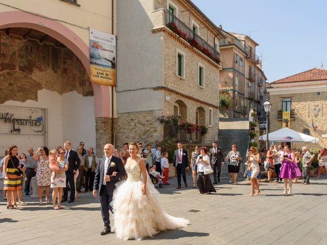 Il matrimonio di Francesco e Silvia a Laurino, Salerno 36