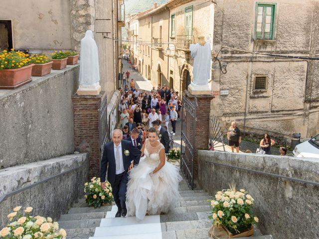 Il matrimonio di Francesco e Silvia a Laurino, Salerno 37