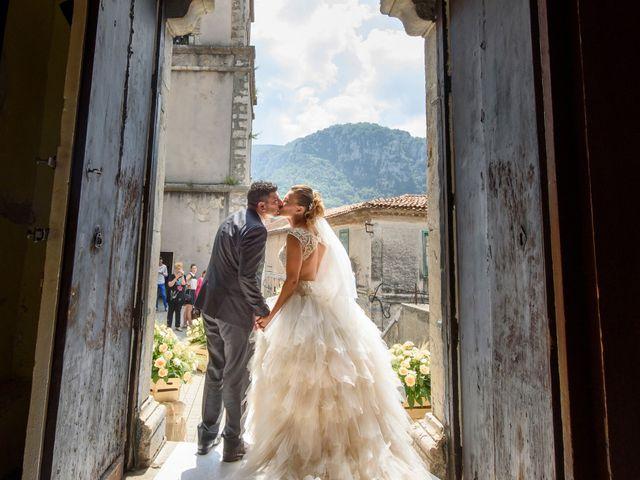 Il matrimonio di Francesco e Silvia a Laurino, Salerno 45