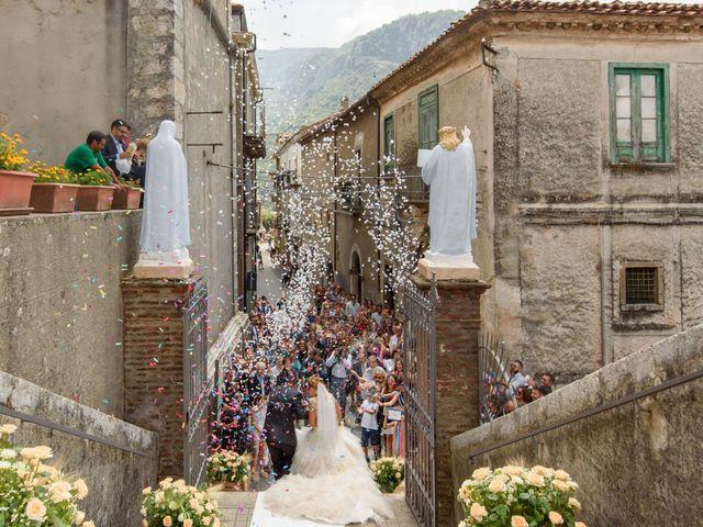 Il matrimonio di Francesco e Silvia a Laurino, Salerno 46