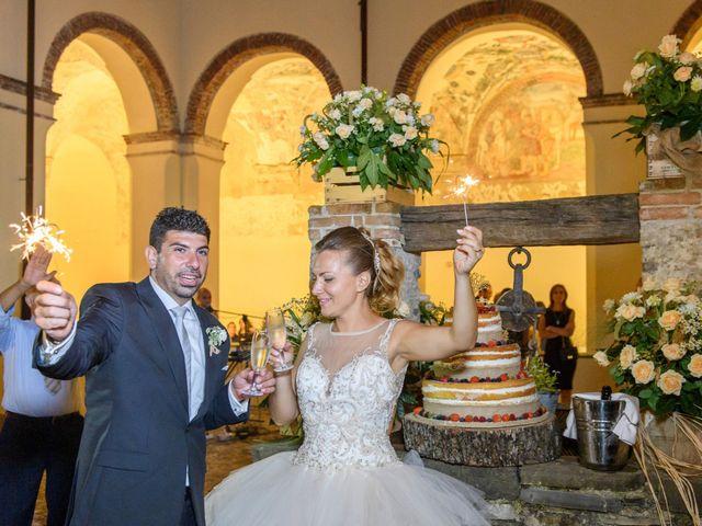 Il matrimonio di Francesco e Silvia a Laurino, Salerno 77
