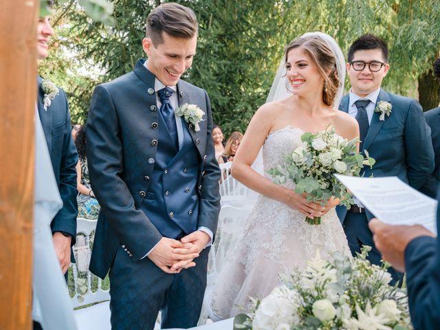 Il matrimonio di Giuseppe e Sharon a Medicina, Bologna 1