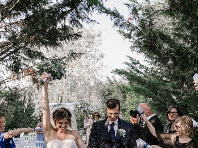 Il matrimonio di Giuseppe e Sharon a Medicina, Bologna 81
