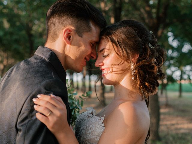 Il matrimonio di Giuseppe e Sharon a Medicina, Bologna 89
