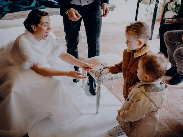 Il matrimonio di Lorenzo e Martina a Montespertoli, Firenze 32