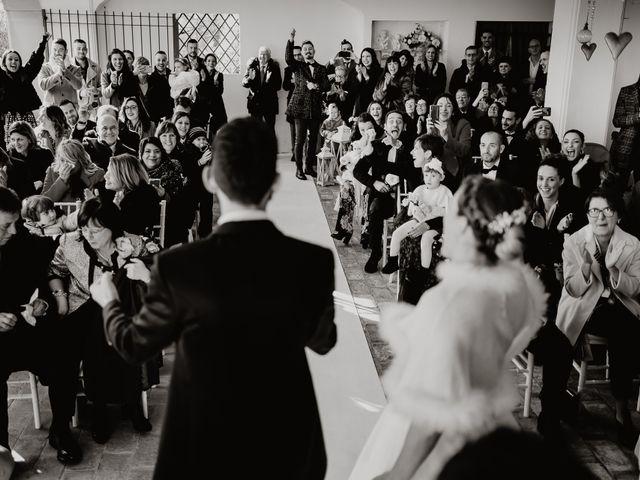 Il matrimonio di Lorenzo e Martina a Montespertoli, Firenze 35