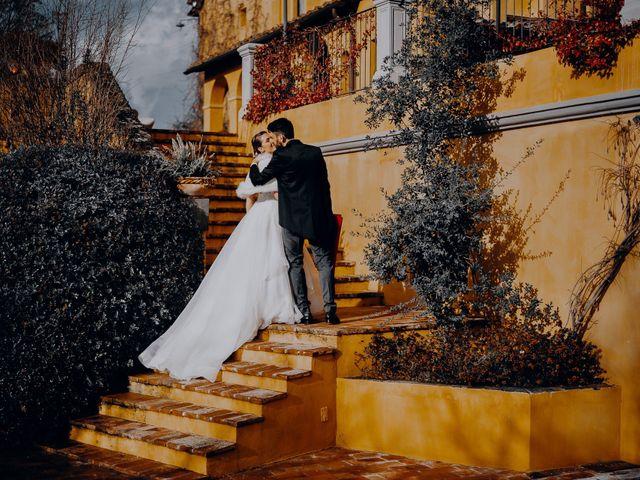 Il matrimonio di Lorenzo e Martina a Montespertoli, Firenze 42