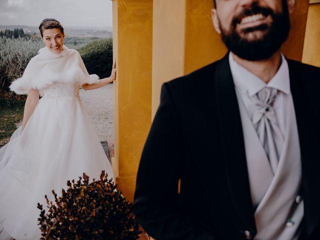 Il matrimonio di Lorenzo e Martina a Montespertoli, Firenze 45