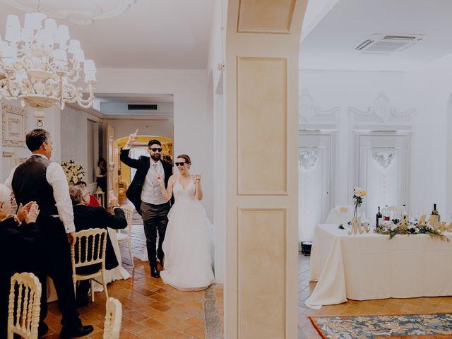Il matrimonio di Lorenzo e Martina a Montespertoli, Firenze 54
