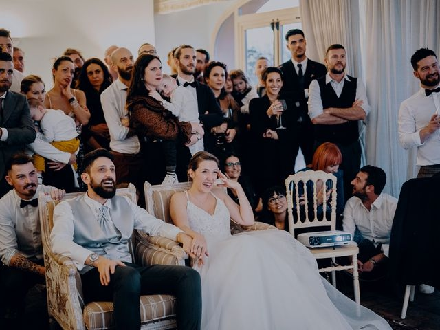 Il matrimonio di Lorenzo e Martina a Montespertoli, Firenze 57