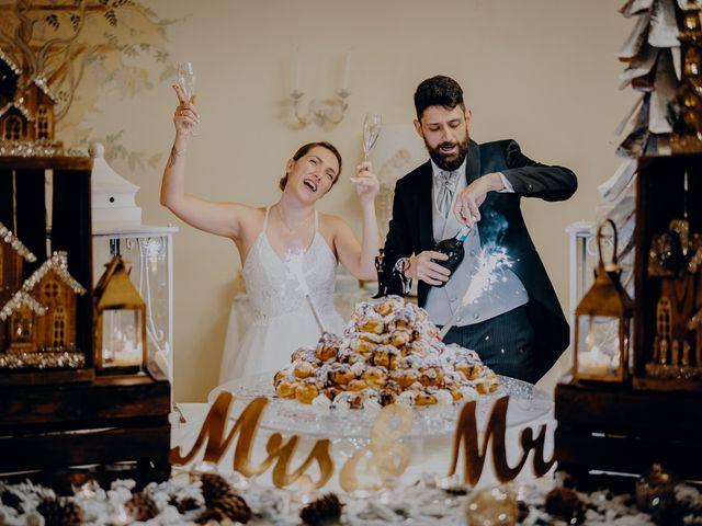 Il matrimonio di Lorenzo e Martina a Montespertoli, Firenze 60