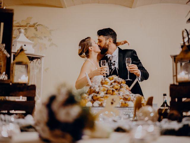 Il matrimonio di Lorenzo e Martina a Montespertoli, Firenze 61