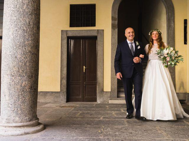 Il matrimonio di Federico e Carola a Como, Como 25