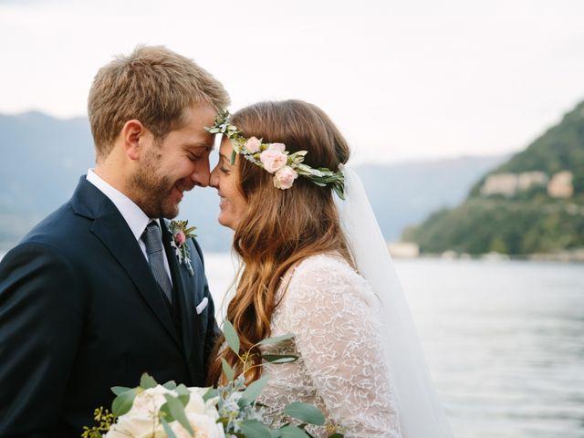 Il matrimonio di Federico e Carola a Como, Como 43