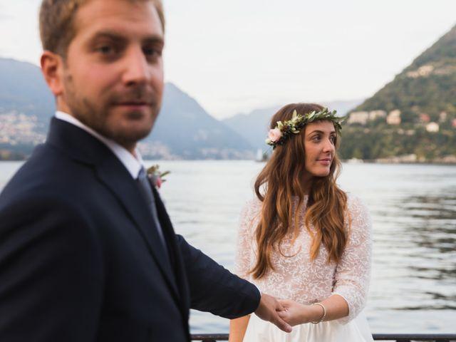 Il matrimonio di Federico e Carola a Como, Como 45