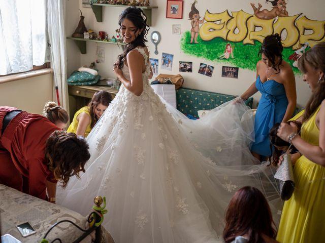 Il matrimonio di Nicola e Aurora a Bagnoregio, Viterbo 14