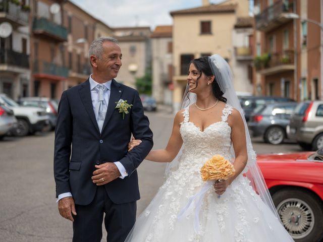 Il matrimonio di Nicola e Aurora a Bagnoregio, Viterbo 29