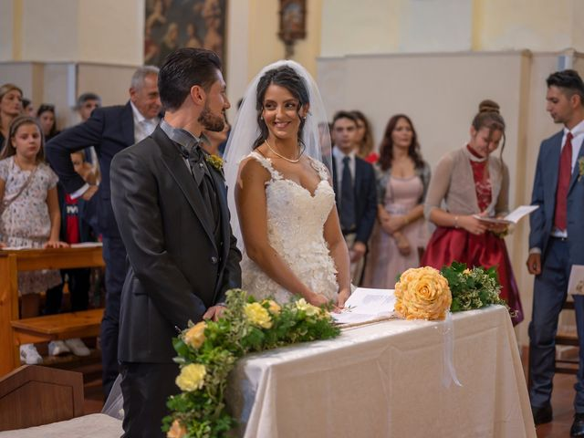 Il matrimonio di Nicola e Aurora a Bagnoregio, Viterbo 32