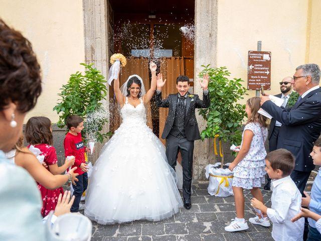 Il matrimonio di Nicola e Aurora a Bagnoregio, Viterbo 37
