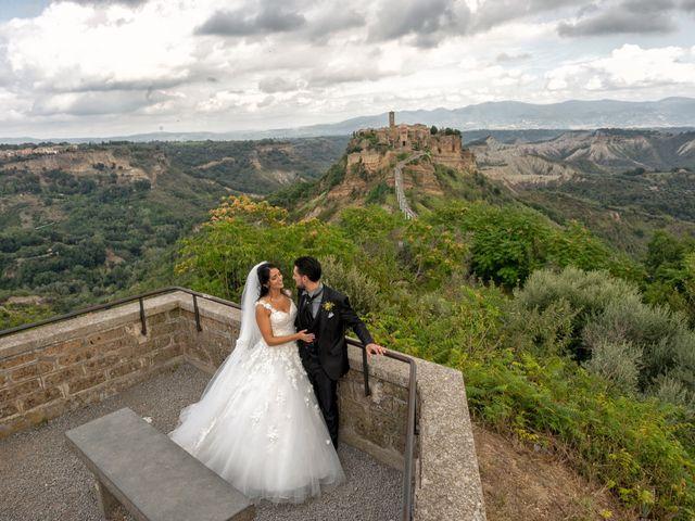 Il matrimonio di Nicola e Aurora a Bagnoregio, Viterbo 39