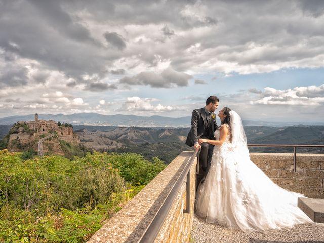 Il matrimonio di Nicola e Aurora a Bagnoregio, Viterbo 41