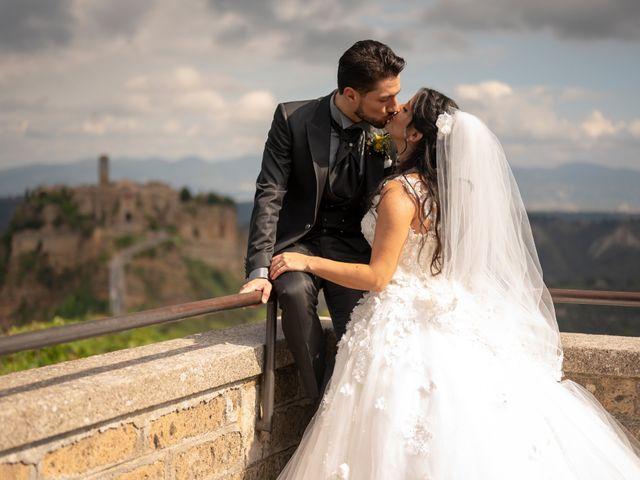 Il matrimonio di Nicola e Aurora a Bagnoregio, Viterbo 42