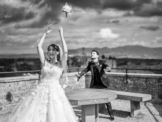 Il matrimonio di Nicola e Aurora a Bagnoregio, Viterbo 44