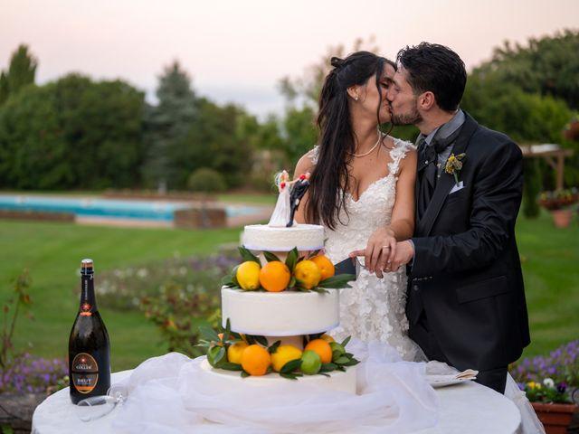 Il matrimonio di Nicola e Aurora a Bagnoregio, Viterbo 63