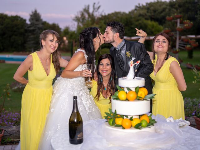 Il matrimonio di Nicola e Aurora a Bagnoregio, Viterbo 65