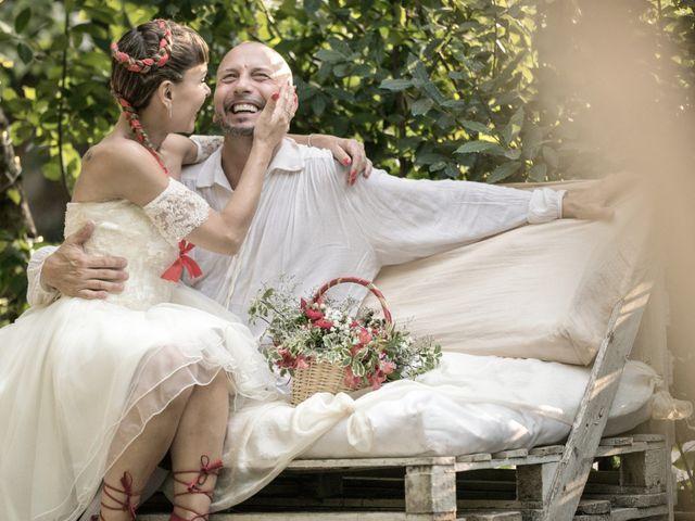 Il matrimonio di Silvia e Stefano a Mentana, Roma 1