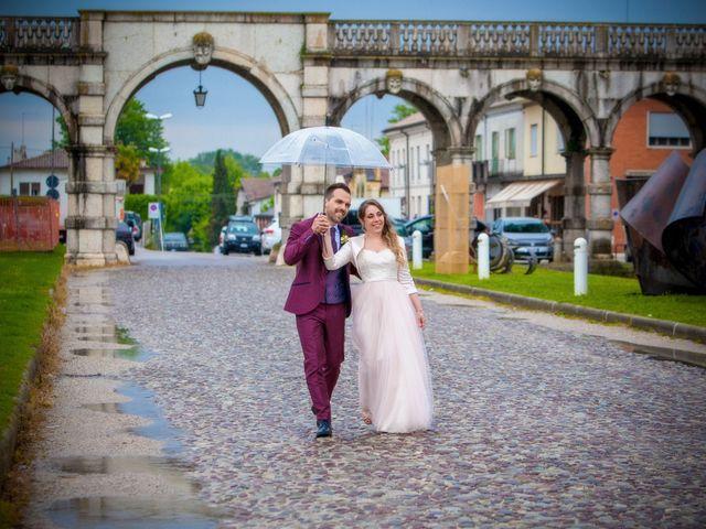 Il matrimonio di Giulia e Richard a Piazzola sul Brenta, Padova 15