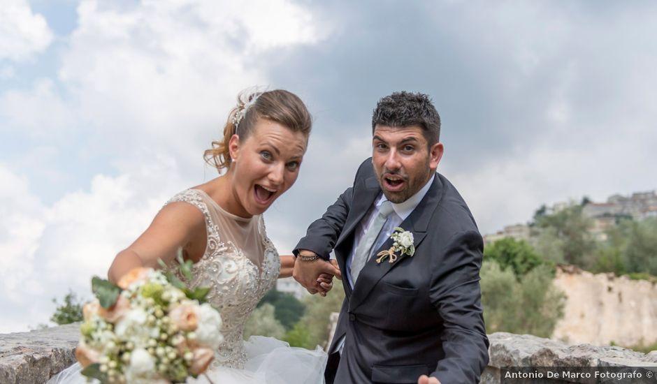 Il matrimonio di Francesco e Silvia a Laurino, Salerno