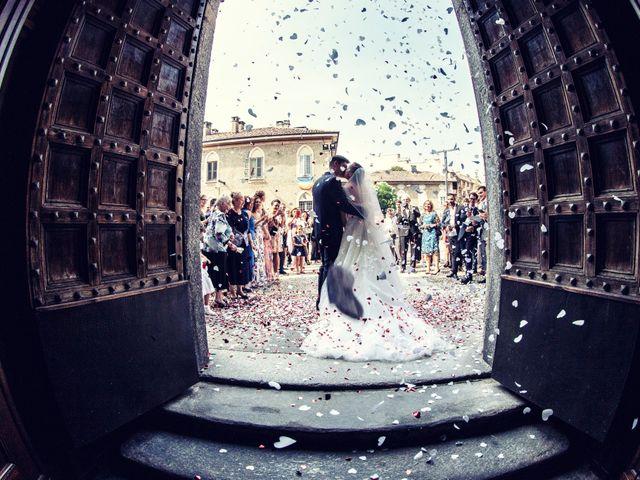 Il matrimonio di Marco e Chiara a Nembro, Bergamo 53