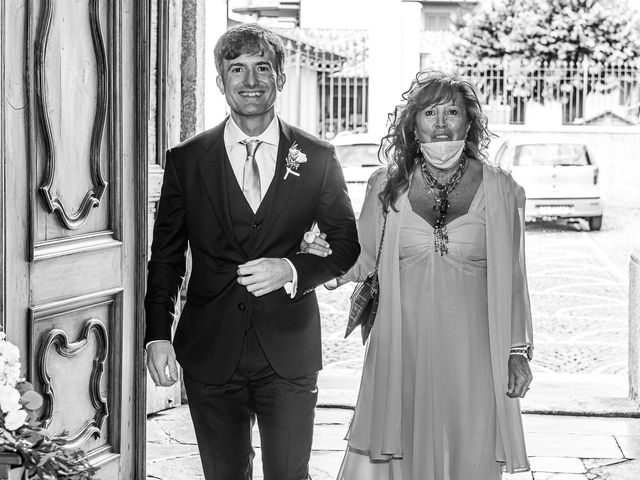 Il matrimonio di Davide e Serena a Domaso, Como 3