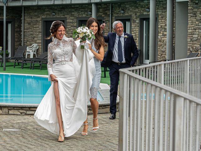 Il matrimonio di Davide e Serena a Domaso, Como 4