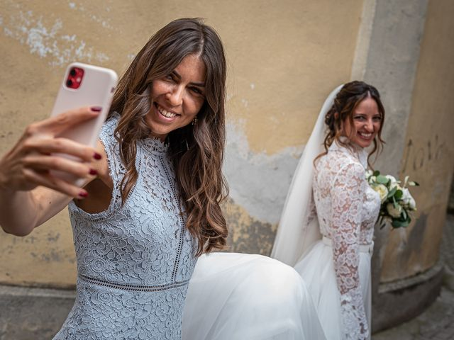 Il matrimonio di Davide e Serena a Domaso, Como 8