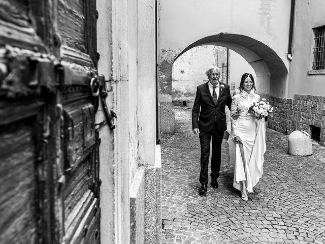 Il matrimonio di Davide e Serena a Domaso, Como 10