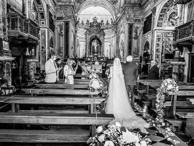 Il matrimonio di Davide e Serena a Domaso, Como 12