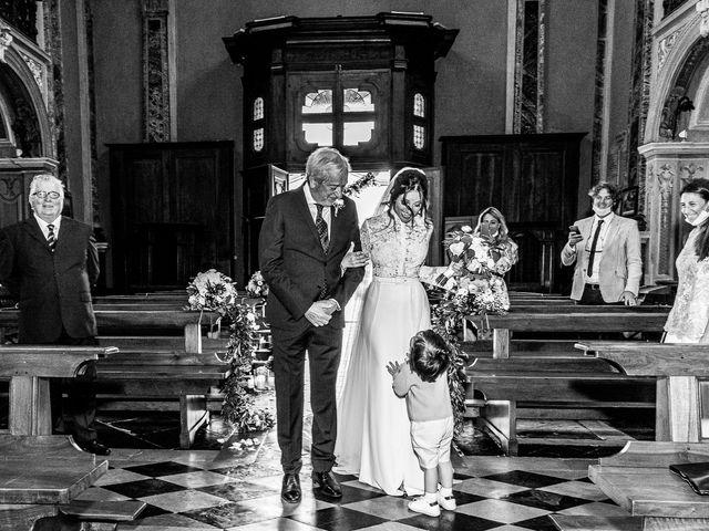 Il matrimonio di Davide e Serena a Domaso, Como 13