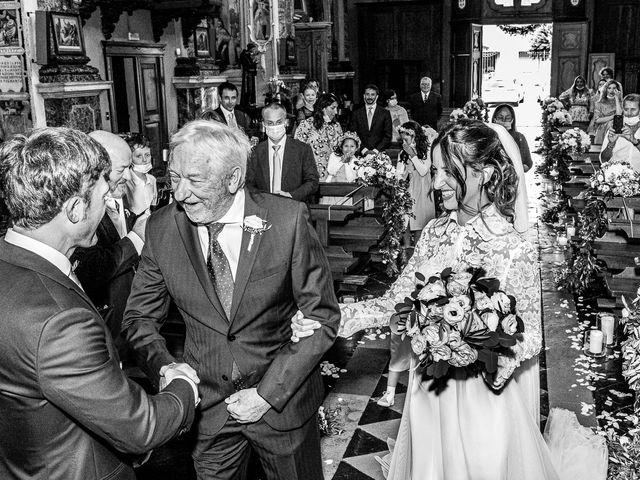 Il matrimonio di Davide e Serena a Domaso, Como 15