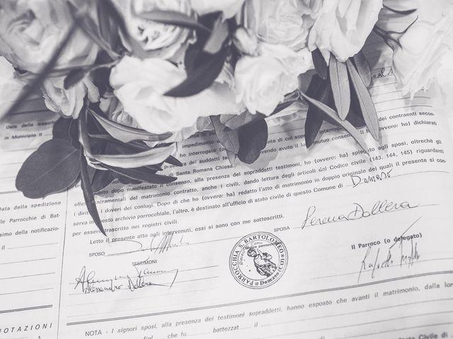 Il matrimonio di Davide e Serena a Domaso, Como 30