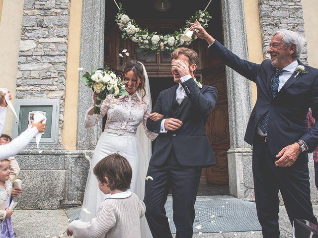 Il matrimonio di Davide e Serena a Domaso, Como 33