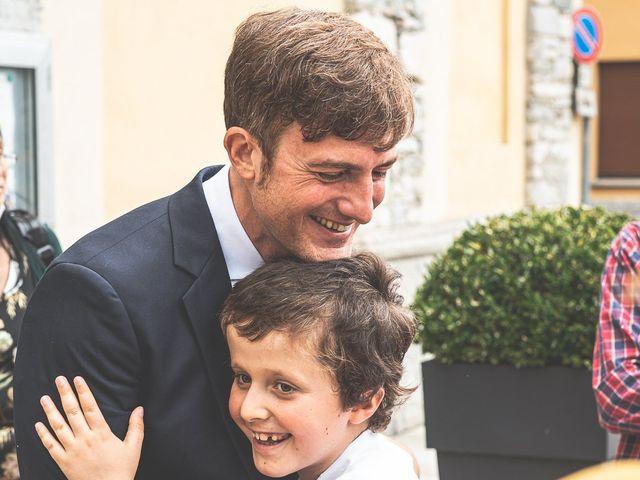 Il matrimonio di Davide e Serena a Domaso, Como 34