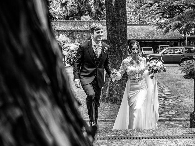Il matrimonio di Davide e Serena a Domaso, Como 41