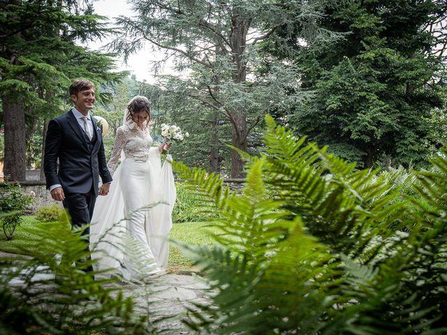 Il matrimonio di Davide e Serena a Domaso, Como 43