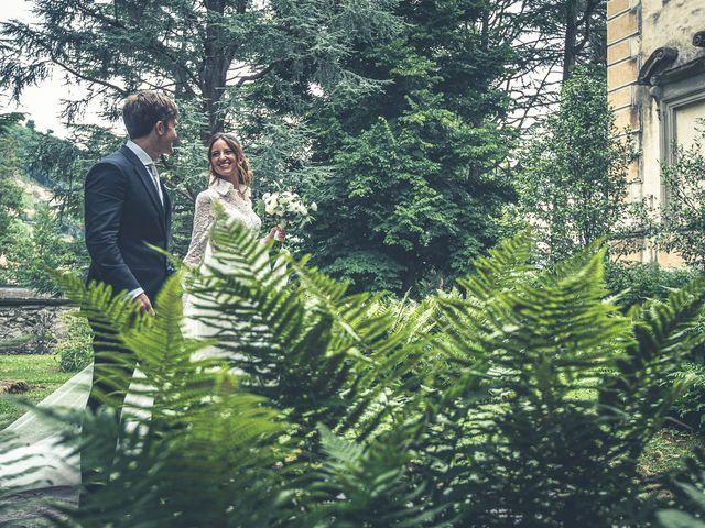 Il matrimonio di Davide e Serena a Domaso, Como 44