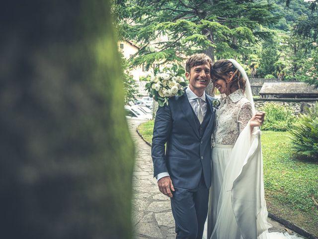 Il matrimonio di Davide e Serena a Domaso, Como 45