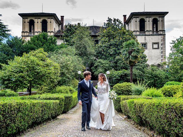 Il matrimonio di Davide e Serena a Domaso, Como 46