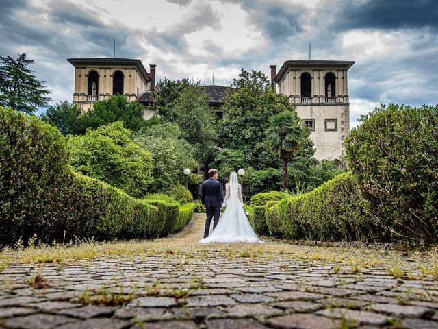 Il matrimonio di Davide e Serena a Domaso, Como 47