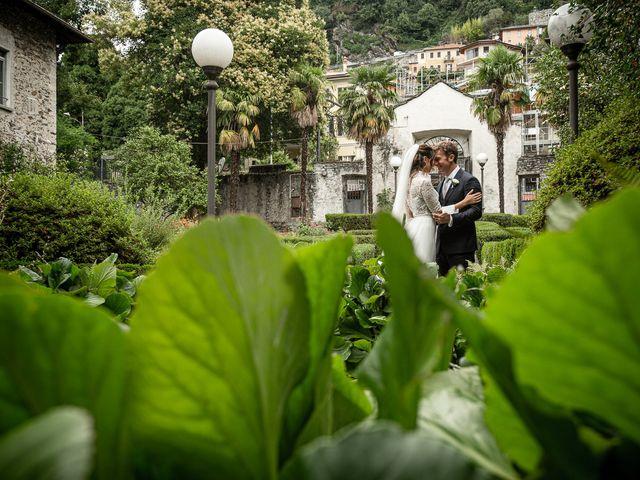 Il matrimonio di Davide e Serena a Domaso, Como 49
